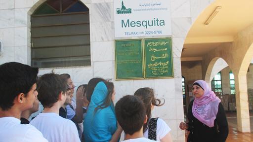 Mesquita Portal  Para O Oriente Medio